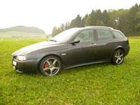 günstige Langzeitvermietung Alfa Romeo 156 kombi diesel