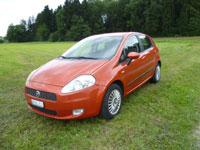 günstige Langzeitmiete Fiat Punto rossa
