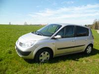 günstige Langzeitmiete Renault Scenic